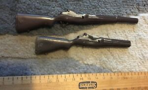 Vintage Action Man M1 Garand Rifles x2  job lot Two Rifles