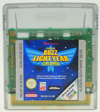 Buzz Lightyear Star Command Nintendo Gameboy Color Advance GBC GBA muy bien