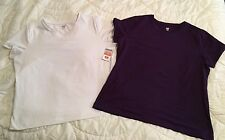 SJB Performance Tee Shirts purple and white size XL (CL282FC13)