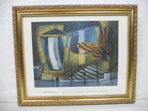 """13"""" X 16"""" Framed Print by Emil G. Bethke - Ophthalmology - Nocturnal Beam"""