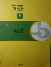 John Deere 420 Tractor Crawler Hi-Crop Utility Master Service Manual 552p SM2019
