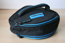 """Tupperware Insulated Round Lunch Bag  9 """" Dia. Black New"""