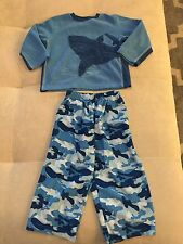 Baby Boy Pajama PJ Size 2T Warm With Shark Two Piece