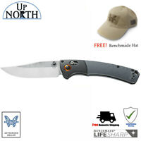 NEW BENCHMADE Crooked River 15080-1 Folding Hunt Knife G10 Handle SV30 Blade