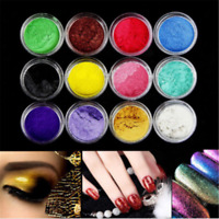 12 Color DIY Pigment Powder For Soap Nail Art Eye Shadow Resin Colorant Dye