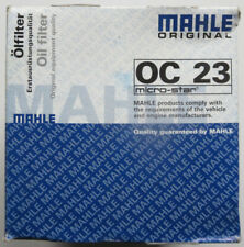 Mahle OC23 micro-star engine oil filter for Fiat, Ford, GM, MG B, VW etc