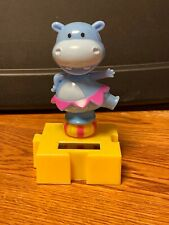 New Solar Powered Dancing Toy Bobble Head Circus HIPPO Dancing