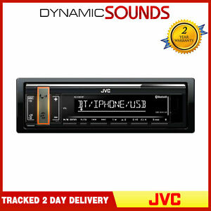 JVC KD-X361BT Mechless Digital Media Receiver Bluetooth USB/AUX iPhone/Android