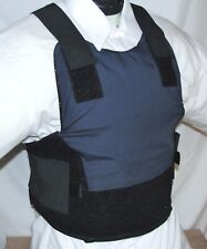 New Large Concealable Carrier IIIA Body Armor BulletProof Vest w Kevlar Inserts