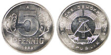 5 PFENNIG 1988 GERMANIA/GERMANY DEMOCRATIC REPUBLIC DDR #2191A