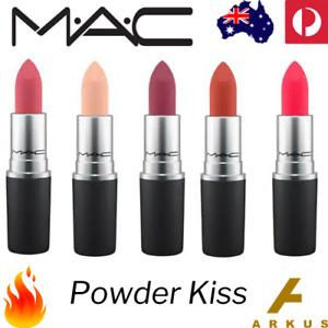 M·A·C Cosmetics POWDER KISS LIPSTICK Lip Stick 3g 0.1Oz 2019 MAC Make Up Matte