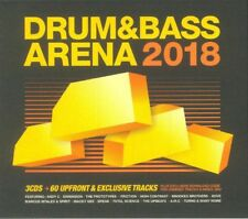 Various Artists - Drum And Bass Arena 2018 NEW 3CD & Download Code - Sealed