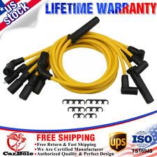 7X Spark Plug Wire Blazer S10 Jimmy Savana Express Hombre For Chevrolet GMC 4.6L