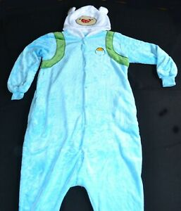 Adventure Time Finn One Piece Costume Size M