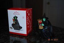 2014 Hallmark Its Shoe Time! Witch Wizard of Oz Woz Magic Xmas Keepsake ornament