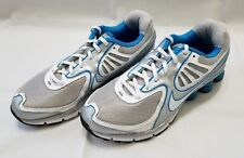 Womens Size 10 Silver Blue White Nike Qualify Running Shoes 396658-002 preowned