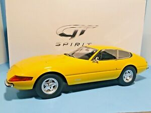 GT Spirit Ferrari Daytona Yellow ZM093 Large 1:12 Scale RARE