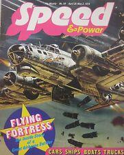 Speed & Power magazine 25 April 1975 Issue 58