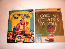 1970 's VINTAGE CHILDREN'S BOOKS LOT OF 2 - CHRISTIAN by Arch Books