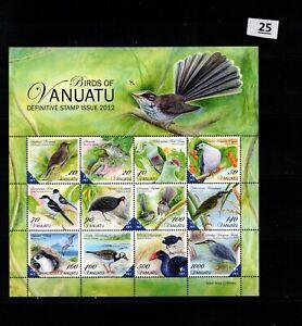 / VANUATU - MNH - NATURE - BIRDS - 2012 - PLANTS