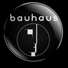 BAUHAUS LOGO 25MM BADGE PETE MURPHY GOTH ROCK 80s POST PUNK BELA LUGOSI'S DEAD