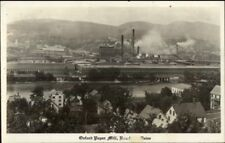 Rumford ME Oxford Paper Mill Real Photo Postcard