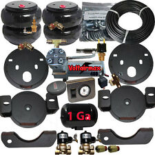 """Air Bag Tow Assist GM Overload Air Kit tank 6"""" lift 5000 P-Switch 2Valve Comp"""