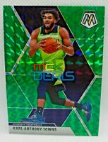 2020 Karl-Anthony Towns Panini Mosaic Timberwolves Green Mosaic #83