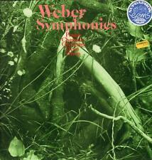 Weber(Vinyl LP)Symphonies-Supraphon-1 10 1635-Czech Rep-1974-Ex+/NM