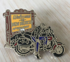 BEAU PIN'S MUSIQUE CHANTEUR JOHNNY HALLYDAY NEW MEXICO MOTO HARLEY DAVIDSON