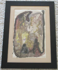 TRUJILLO VINTAGE 1960'S NEW YORK ABSTRACT EXPRESSIONISM MODERNISM PAINTING