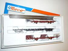 ROCO H0      - 44125 DB Güterwagenset Baustahltransport -     OVP./ Neu    X251X