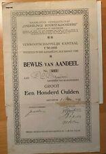 Onderlinge Rouwstalhouderij - Amsterdam - 1919