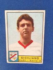 FIGURINA CALCIATORI PANINI STICKERS 1963/64 BARI SICILIANO NUOVA