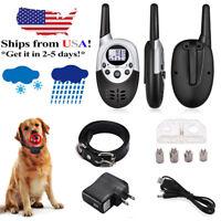 1000Yard Dog Shock Collar Wiz Remote Waterproof Electric For Large Pet Training