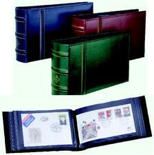 LEUCHTTURM  FDC, Brief-Album Classic Design Bordeauxrot