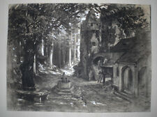 Peter GRABWINKLER (1885-1943) Traumland. Sign.: P.G. +Rückseite.