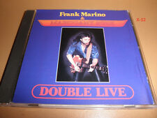 MAHOGANY RUSH frank marino DOUBLE LIVE cd STRANGE DREAMS rare MAZE music label