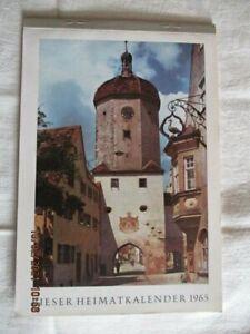 alter Kalender Heimatkalender Nördlingen Oettingen Bopfingen Wemding 1965 (R1/1)