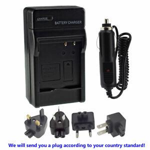 Wall Battery Charger for Panasonic CGA-S008 DMW-BCE10 Lumix DMC-FX520 DMC-FX55