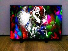 Bob Marley Art on Rock Slate 8x6 inch Collectables Memorabilia Music Rare