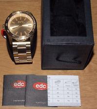 EDC Esprit METAL STARLET GLAMOROUS EE100762002 Quarz Edelstahl Armbanduhr Frau
