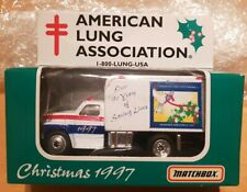 Matchbox Ford F800 Delivery Truck 1997 American Lung Association Model.