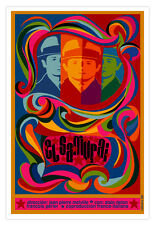 "Spanish movie Poster 4 French-Italian film""El Samurai""Alain Delon art.Home Decor"