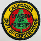 """California Department Of Conservation Division Of Forestry CA Patch (C3) 3"""""""