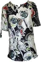 Phase Eight lovely silky feel flower print top blouse 10-18 NEW evening cruise