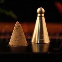1pc Incense Cones Mould Mold DIY Tool  Copper Church Incense Burner Buddhism Zen
