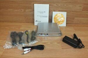 Genuine Plextor (PX-M402U) Digital Converter Box With Manual & Cords **READ**