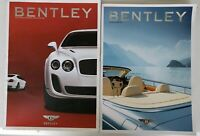 Bentley Lot Of 2 Magazines 2009 And 2006 Rare Automobile