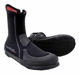 Aqua Lung Men's 5mm Superzip Ergo Elite Dive Boots (Select Sizes)